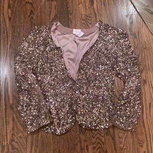 Parker sequin jacket M